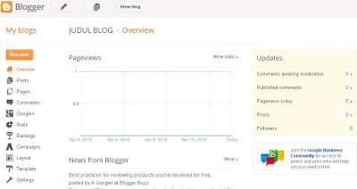 dashboard blog