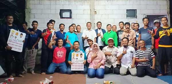 Obon Tabroni sosialisasi di Perumahan Pesona Mutiara Sumberjaya, Tambun Selatan