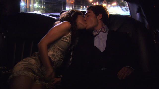 Il primo bacio di Blair e Chuck