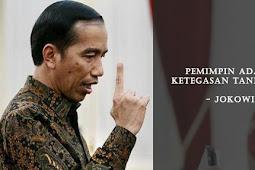 Ketegasan Jokowi ?