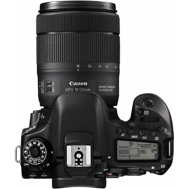 سعر كاميرا Canon EOS 80D