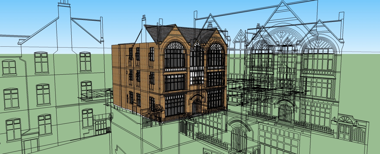 Positive Impact: The Honours Project - Sketchup photos and