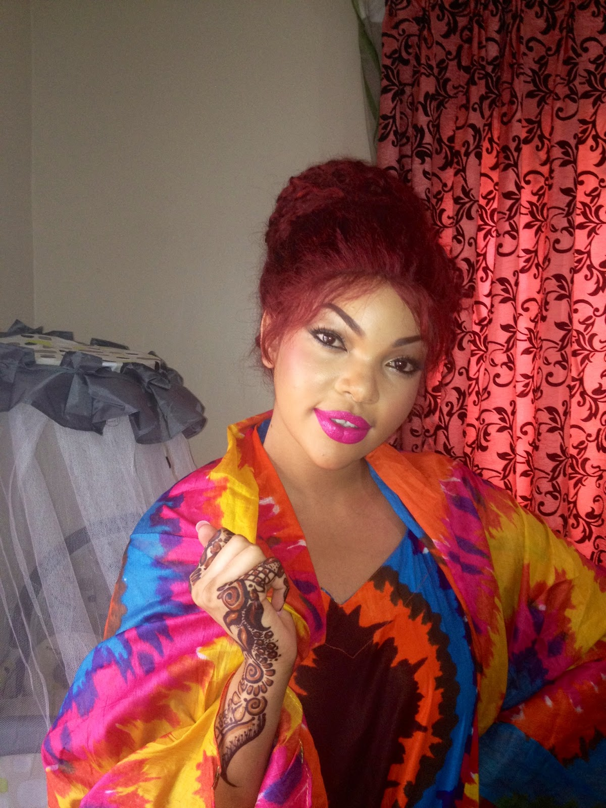 Glambox:Beautiful make~up is our hallmark!: Wema is going to the ball