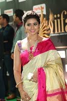 Sneha Looks Super cute in Red Silk Saree at IIFA Utsavam Awards 016.JPG