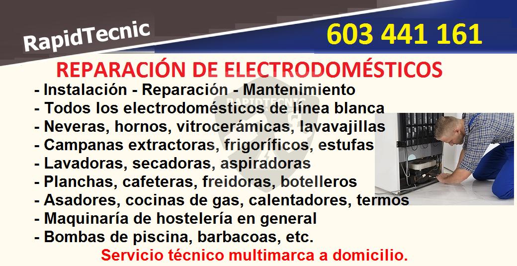 Rapidtecnic valencia reparaci n de electrodom sticos - Reparacion lavavajillas valencia ...