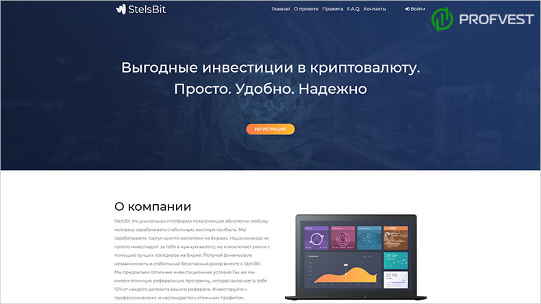 StelsBit обзор и отзывы HYIP-проекта