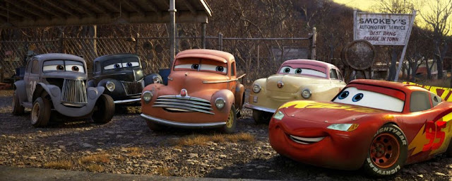 Cars 3 Legends of racing, Smokey
