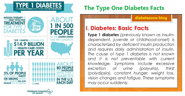 Type One Diabetes Facts