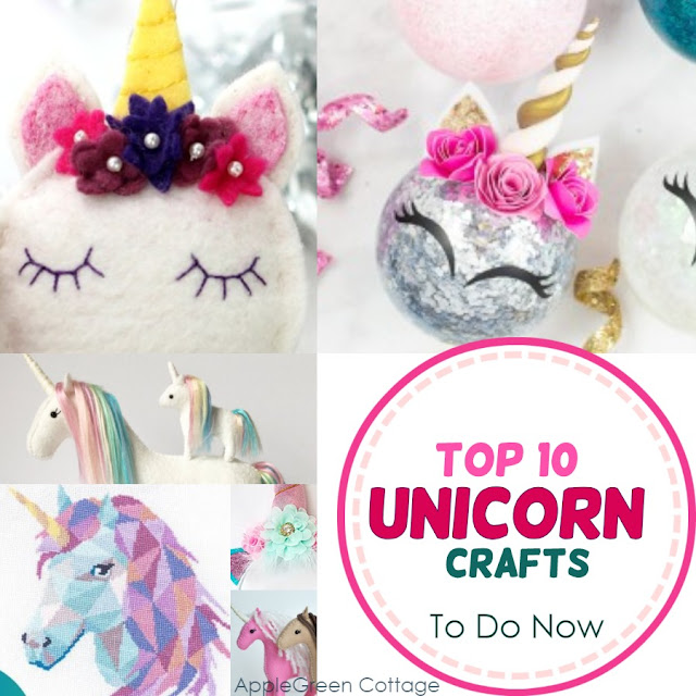 Unicorn crafts to make now - If you are searching for unicorn crafts, check out these popular unicorn diy ideas, and choose your favorite!