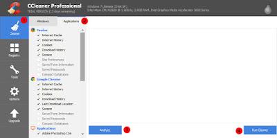 Cara Menggunakan Aplikasi CCleaner Dengan Benar
