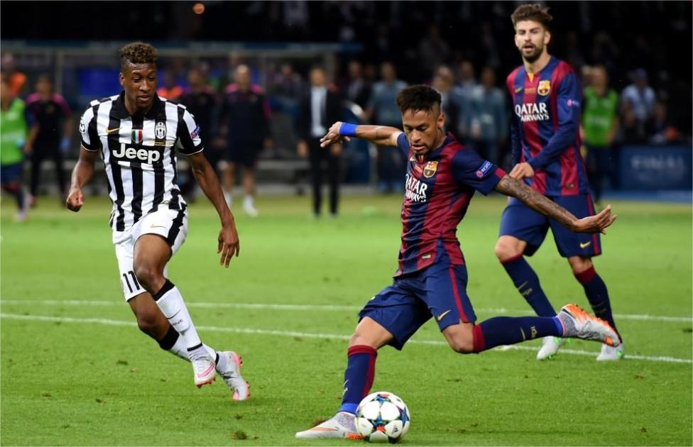 juventus derroto 3-0 al barcelona y se pone como favorito para la vuelta