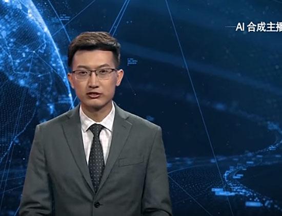 Apresentador digital com inteligência artificial é apresentado ao mundo pela 1 vez - Img 1