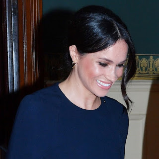 Meghan Markle wore some of my favourite earrings this week for The Queen's birthday. They are the Gold Vermeil Talon Earrings and she paired them with two stacking two bracelets, Gold Vermeil Diamond Signature Cuff and Serpent's Trace. The Serpents Trace bracelet is from the new collection which is launching in May 2018. UK Jewellery Blogger