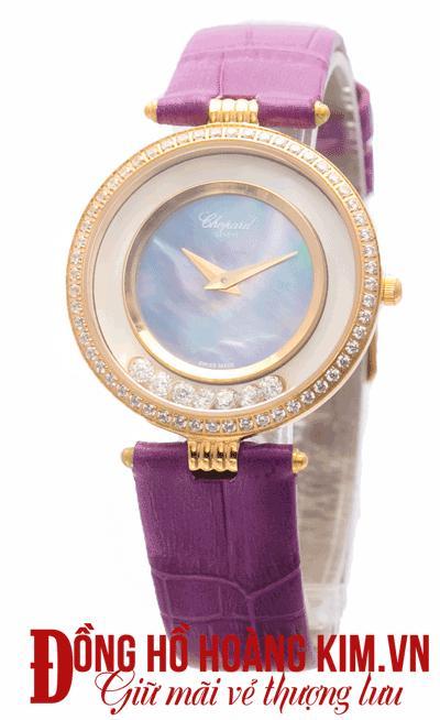 đồng hồ chopard nữ dây da uy tín