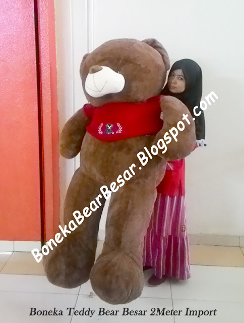 jual boneka teddy bear ukuran 2 meter
