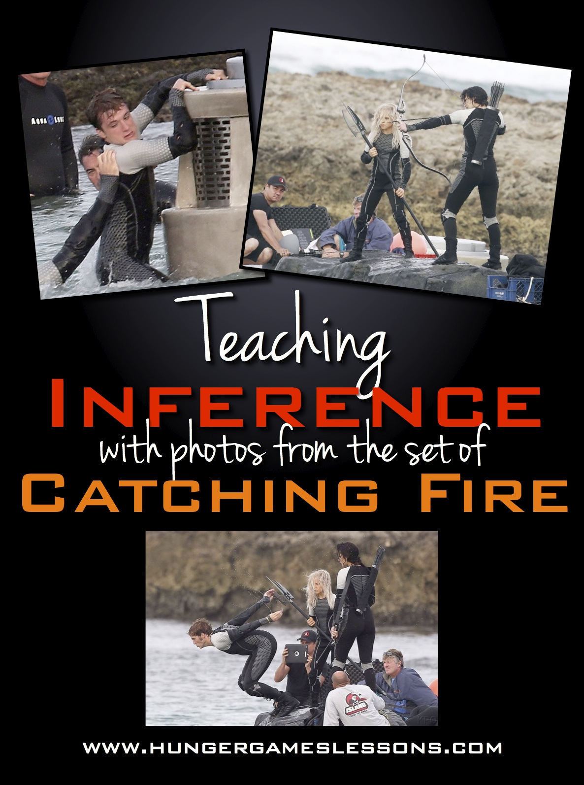 Hunger Games Lessons Use Catching Fire Set Photos To
