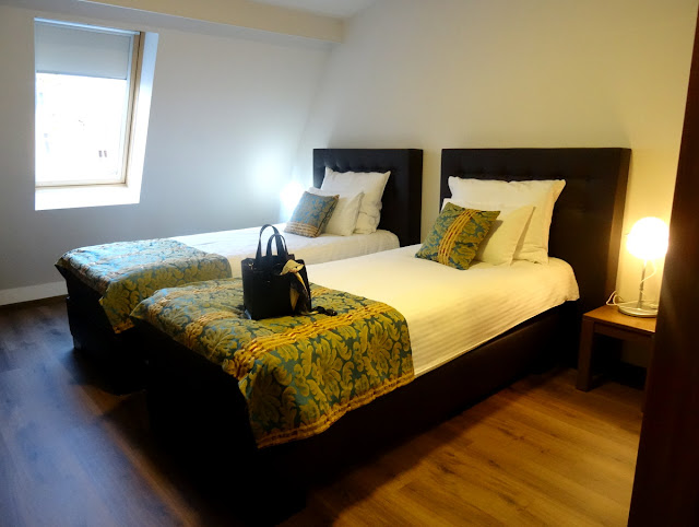 Our rooms at the Heartland City B&B hotel in Tuzla, Bosnia Herzegovina