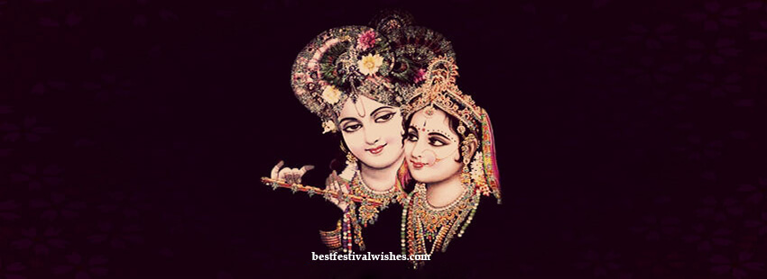 Radha Krishna Facebook Cover Photo