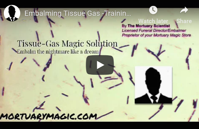 Embalming tissue gas training
