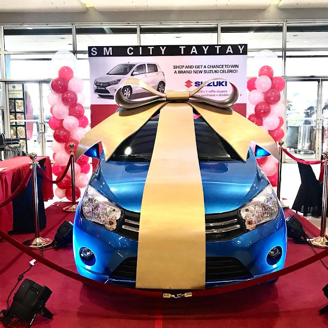 SM CITY TAYTAY 3 DAY SALE and win brand new Suzuki Celerio