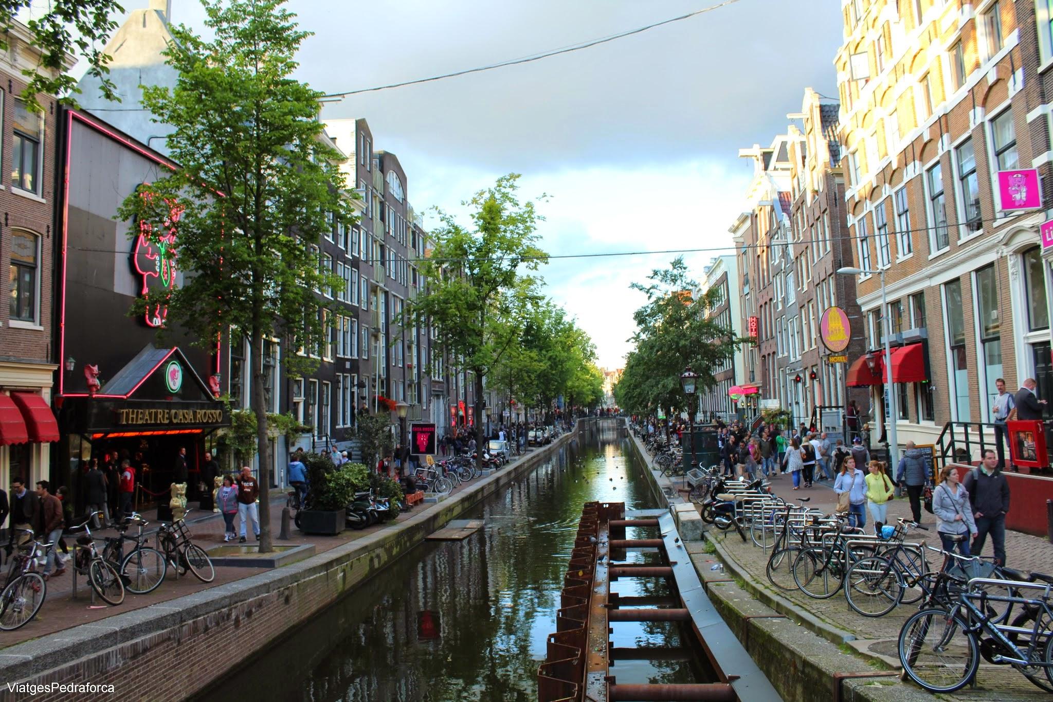 Barri Vermell Amsterdam Red Light District Holanda Països Baixos