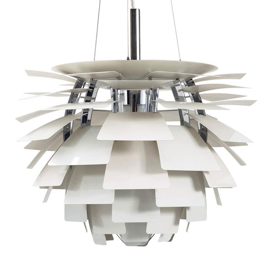White Louis Poulsen PH Artichoke Pendant Lamp ...