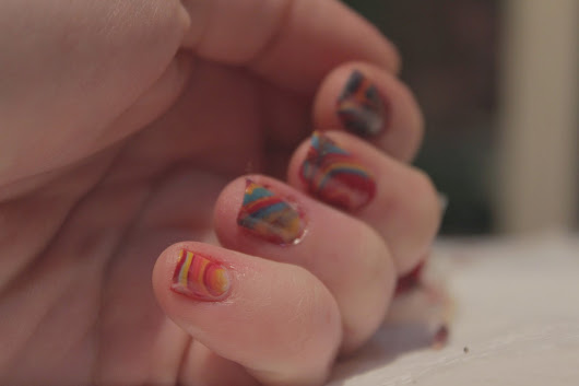 31DC - Water Marble disaster