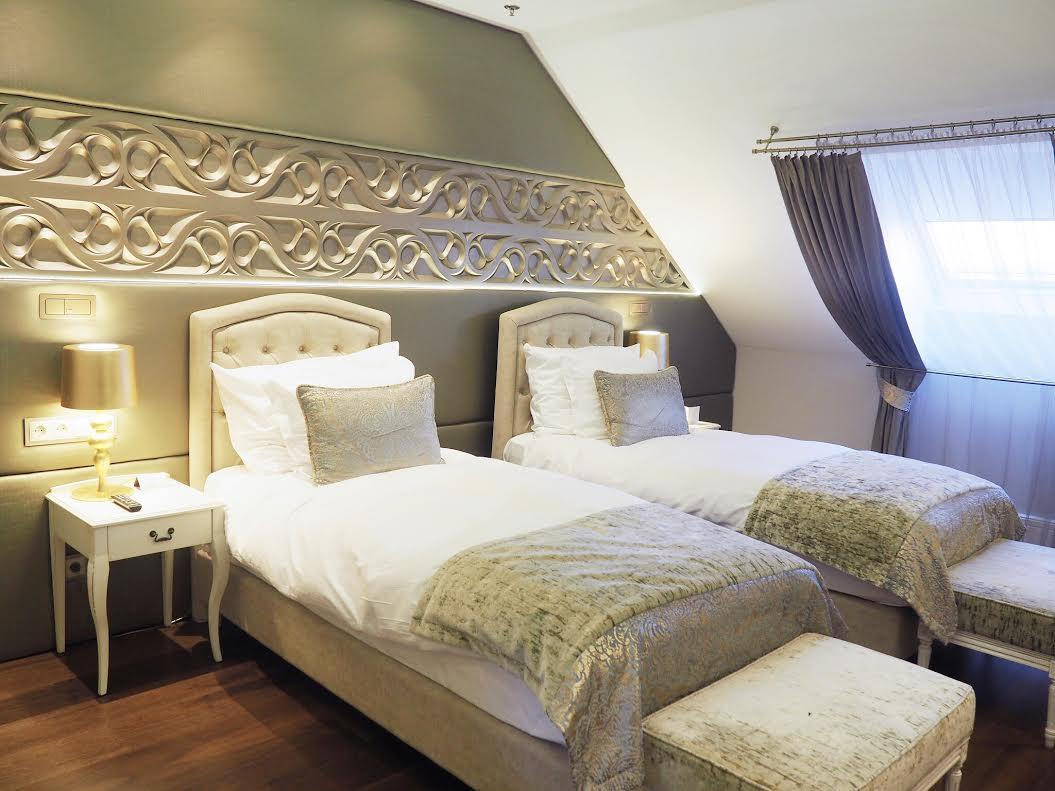 Prestige Budapest Hotel bedrooms