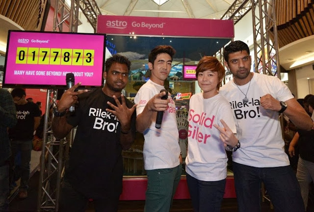 merdeka 2013, Astro, Your Malaysian is Showing, Go Beyond, Positive Engine, Event, Mid Valley megamall, Shantesh, Erul, Jie Ying, Anantha