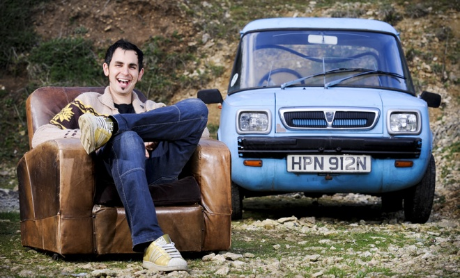 Jonny Smith and his Enfield EV