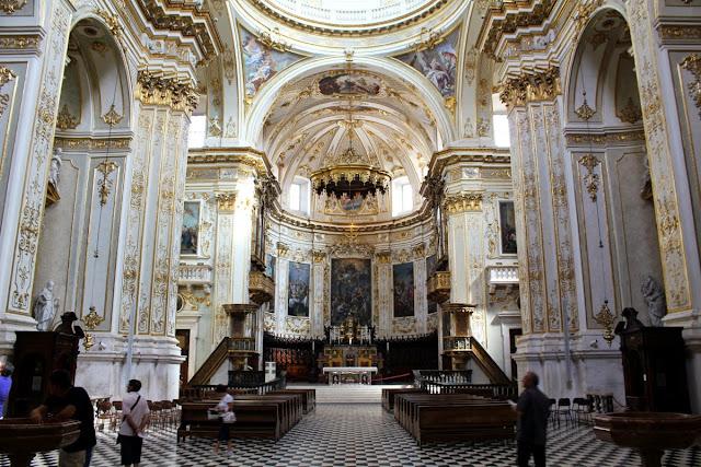 Interior del Duomo de Bergamo