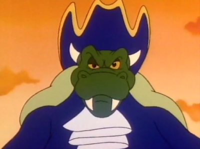 King Blackbeard Koopa Super Mario Bros. Super Show wink Bowser pirate