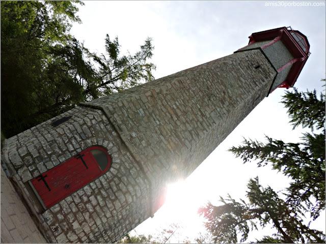 The Gibraltar Point Lighthouse en la Islas de Toronto