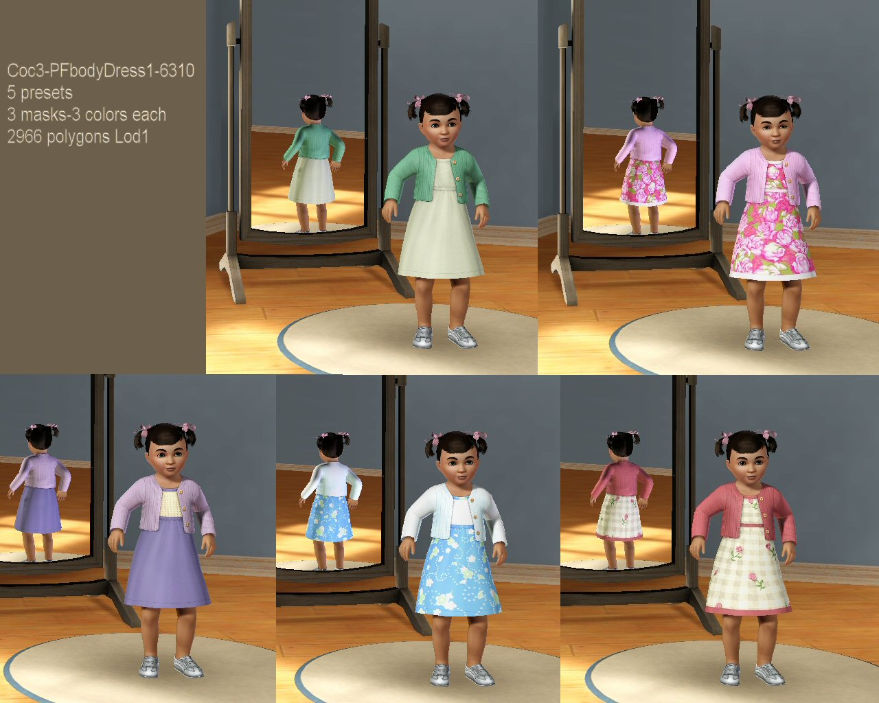 Sims  Baby Clothing Glitch
