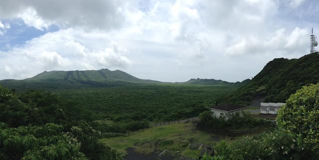 Izu Oshima volcano