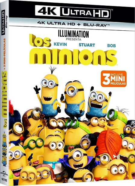 Los Minions 4K (2015) 2160p 4K UltraHD HDR BDRip 14GB mkv Dual Audio DTS-HD 7.1 ch