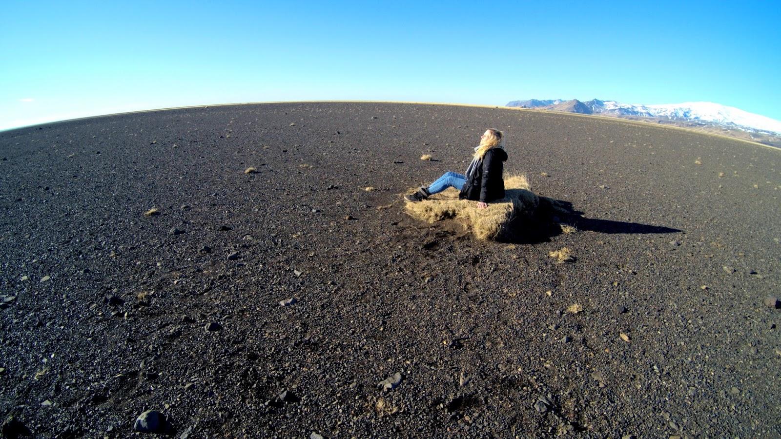Czarna pustynia na Islandii