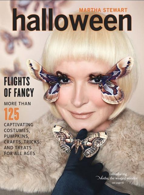 Martha Stewart's Halloween Magazines