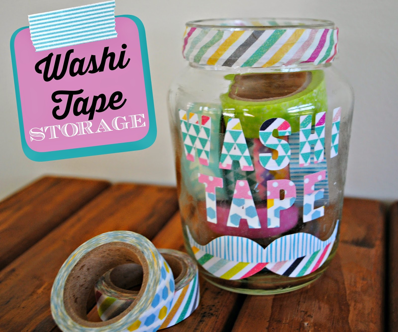 Washi Tale Two It Yourself Washi Tape Storage