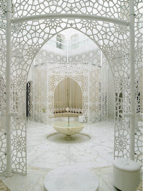 The spa at Hotel Mansour - Marrakesh. Photo by Richard Powers