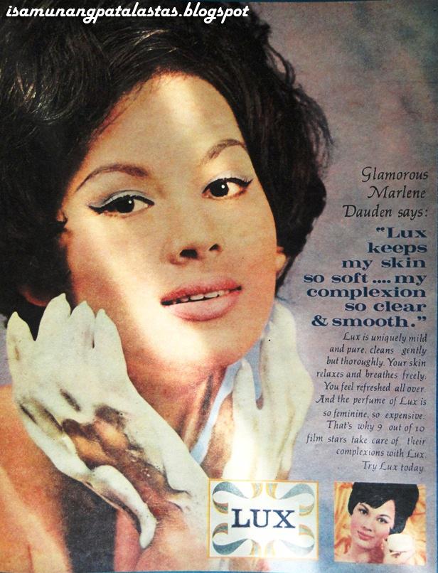 ISA MUNANG PATALASTAS: 66  LUX LADIES OF THE 1960s-75