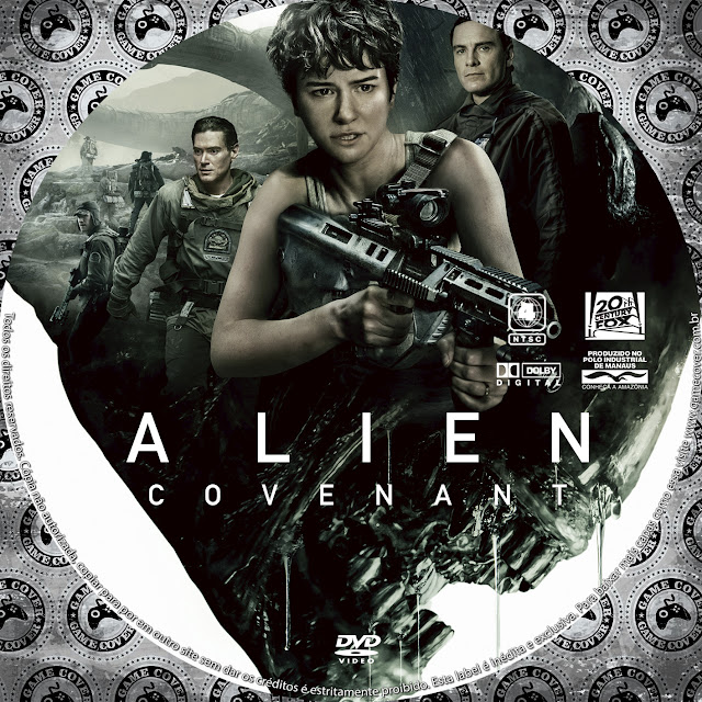 Label DVD Alien Covenant [Exclusiva]