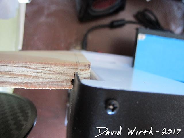 attach wood frame to 3d printer
