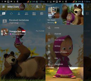 Kumpulan BBM Mod Trasnparan v3.3.0.16 Full Tema for Android Terbaru 2017