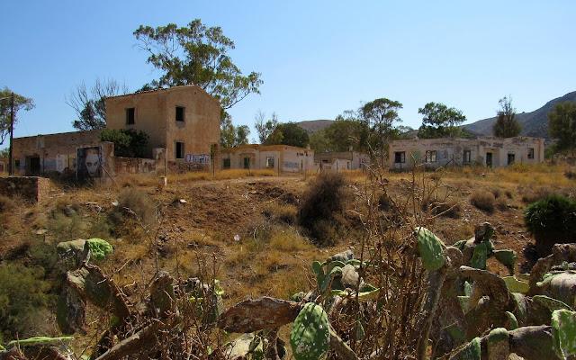 Restos del antiguo poblado minero de Rodalquilar. Cabo de Gata