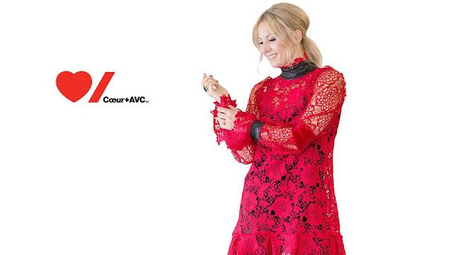 Bannière de la soirée Robe Rouge de l'organisme Coeur+AVC