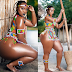 Photos Gallery of Curvy Tanzanian Female Model, Sanchi Shows off Her Huge Booty Pics