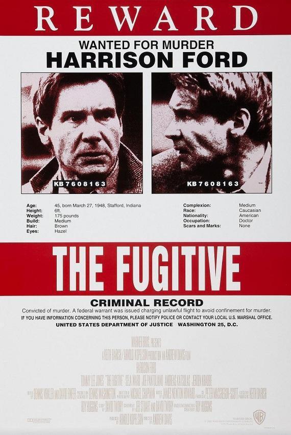 el fugitivo 1993 dvd clasicofilm cine online