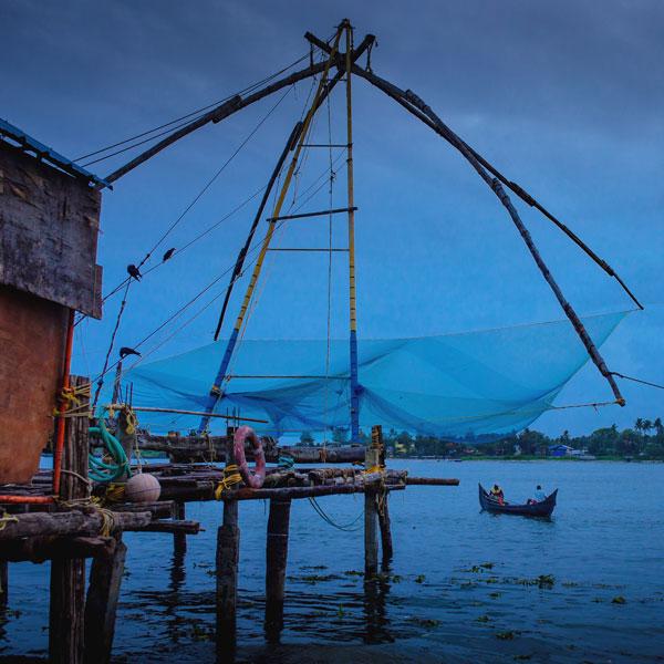 chinese fishing net fort kochi photo