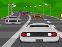 لعبة سيارات رائعة
